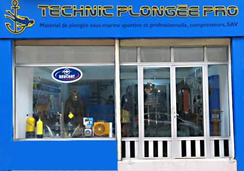 photo de la boutique technic plongee pro